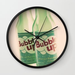 bubble up Wall Clock