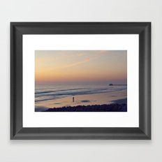 just you and me Framed Art Print
