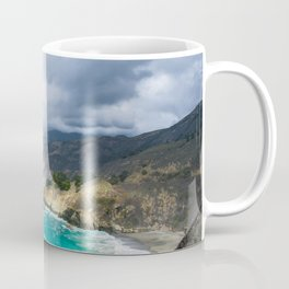 Parting Clouds in Big Sur Coffee Mug