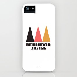 Redwood Mall iPhone Case