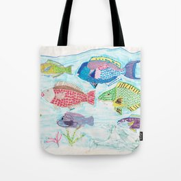 Seychelles Fish 1 Tote Bag