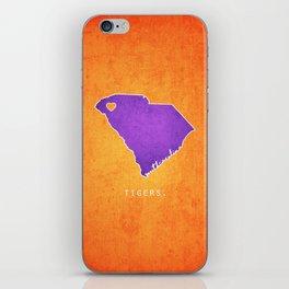 Clemson Tigers iPhone Skin