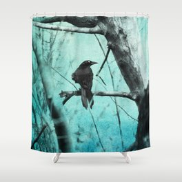 Ghostly Shower Curtain