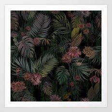 Tropical Iridescence Art Print
