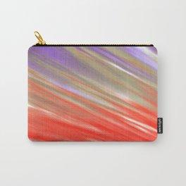 Crimson Aurora Carry-All Pouch
