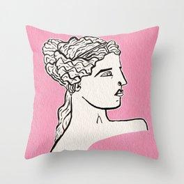 Venus de Milo statue Throw Pillow