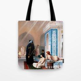 Pool In A Harem - Digital Remastered Edition Tote Bag
