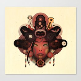 NYXX (urban faery) Canvas Print