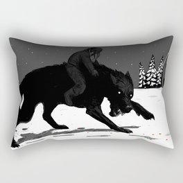 Svart-Alf Rectangular Pillow