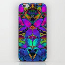 Floral Fractal Art G308 iPhone Skin
