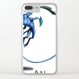 Aal Clear iPhone Case