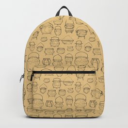 Cauldrons Pattern Backpack