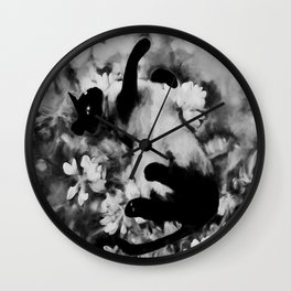 Sulley's Dream BW Wall Clock