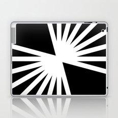 B/W Blast Laptop & iPad Skin