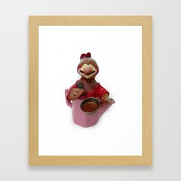 TEA TIME 3 Framed Art Print