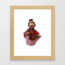 TEA TIME 3 Framed Art Print
