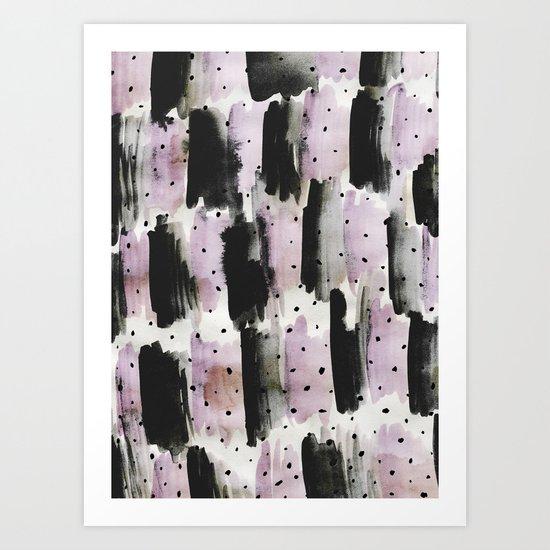 PatternMix02 Art Print