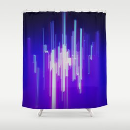 Broadcast Shower Curtain