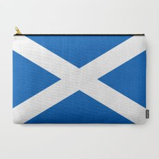 Flag of Scotland - High quality authentic version Carry-All Pouch
