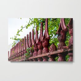 St. Mary's Red Iron Metal Print