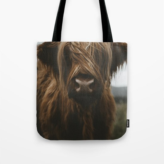 Scottish Highland Cattle Tote Bag