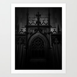 Gothic Britany Art Print