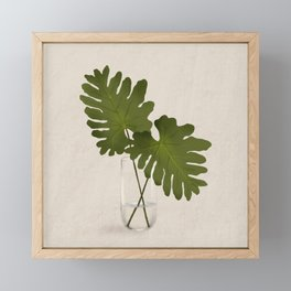 Lacy Leaf Philodendron Framed Mini Art Print