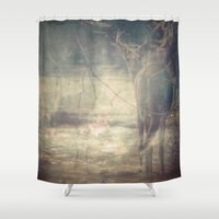 the thing Shower Curtains featuring Sweet Thing  by Faded  Photos