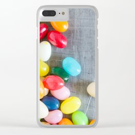 Jelly Beans 4 Clear iPhone Case