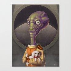 Spacehead Joe Canvas Print