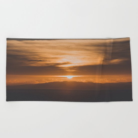 Greece II Beach Towel