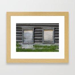 R Windows 012 Framed Art Print