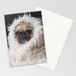 PUG VIBES Stationery Cards