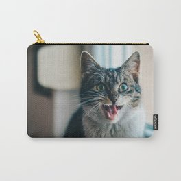 Blep Kitty Carry-All Pouch