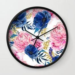 Floral Parade Wall Clock