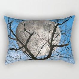 Evening moon Rectangular Pillow