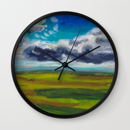 Valley of Florin Wall Clock