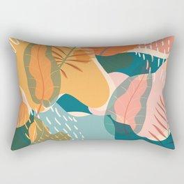 Tropical Autumn Rectangular Pillow