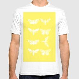 Yellow Moth's; T-shirt