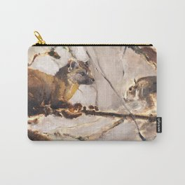 American pine marten with squirrel (c) 2017 Carry-All Pouch