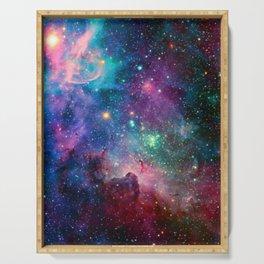 Galaxy Nebula Serving Tray