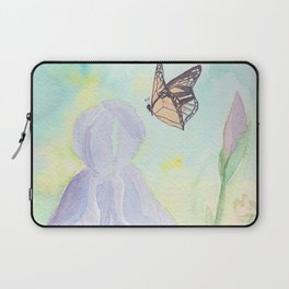 Once upon a time, in a watercolor garden Laptop Sleeve