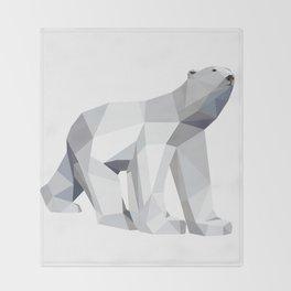 Polar bear Throw Blanket