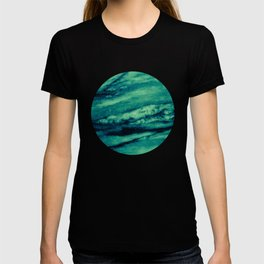 Turquoise marble T-shirt