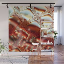 Glass Block Firewall Wall Mural