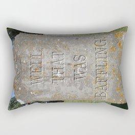 Epitaph 01 Rectangular Pillow
