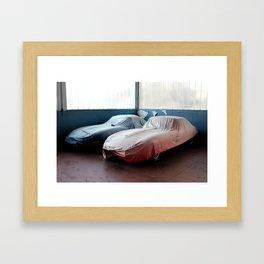 E-Type Undercover Framed Art Print