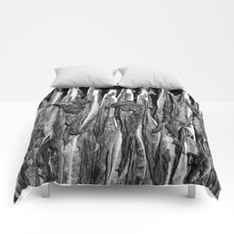 French Symphony of Dying Leaves Comforters