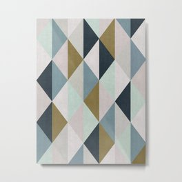 Colored composition I Metal Print