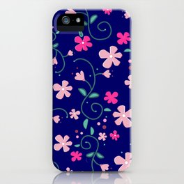 Elizabeth's flowers iPhone Case